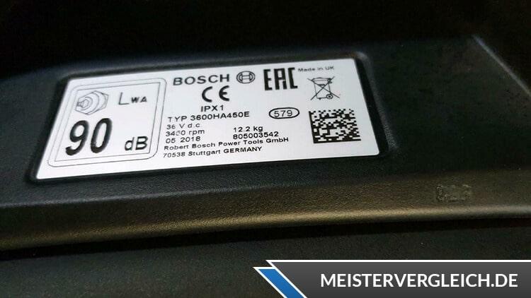 Bosch Rotak 430 LI Datenblatt