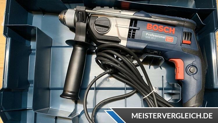 Bosch Schlagbohrmaschine Professional GSB Test