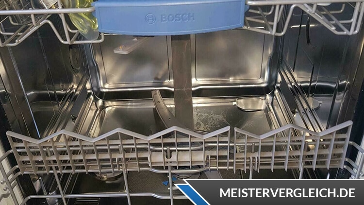 Bosch Serie 4 Spülmaschine Innenraum