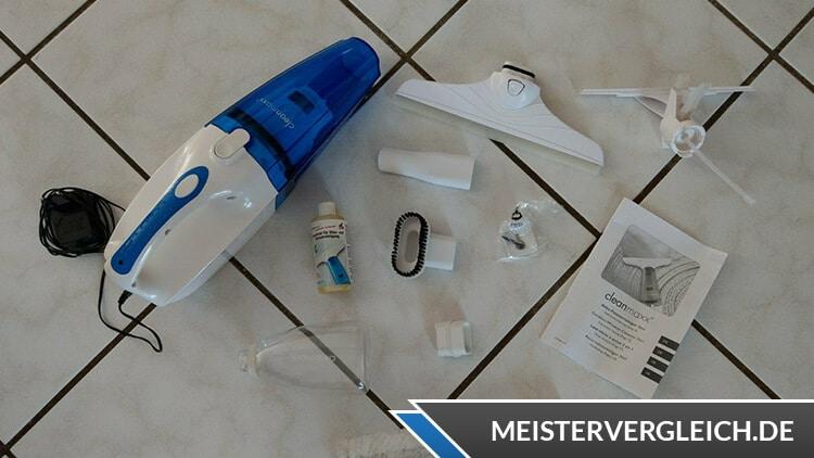 Cleanmaxx Akku Fensterreiniger 3-in-1 Lieferumfang