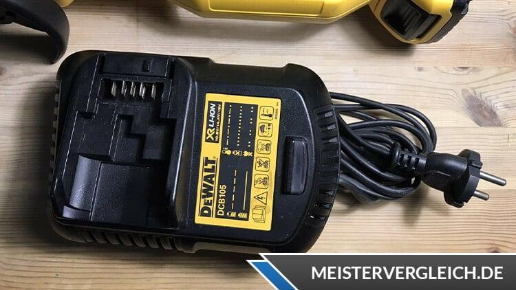 DeWalt DCG412N-XJ Akku-Winkelschleifer Ladegerät