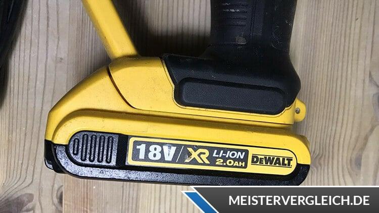DeWalt DCG412N-XJ Akku