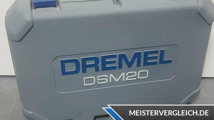 DREMEL DSM20 3/4 geschlossener Koffer