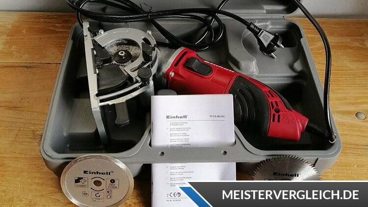 Einhell 450 W TC-CS 860 Koffer