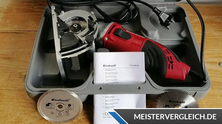 Einhell Handkreissäge 450 W TC-CS 860 Kit Test