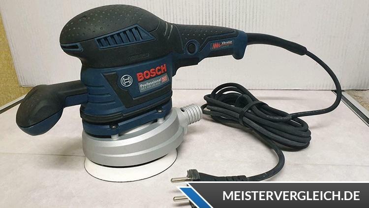 Exzenterschleifer Bosch Test