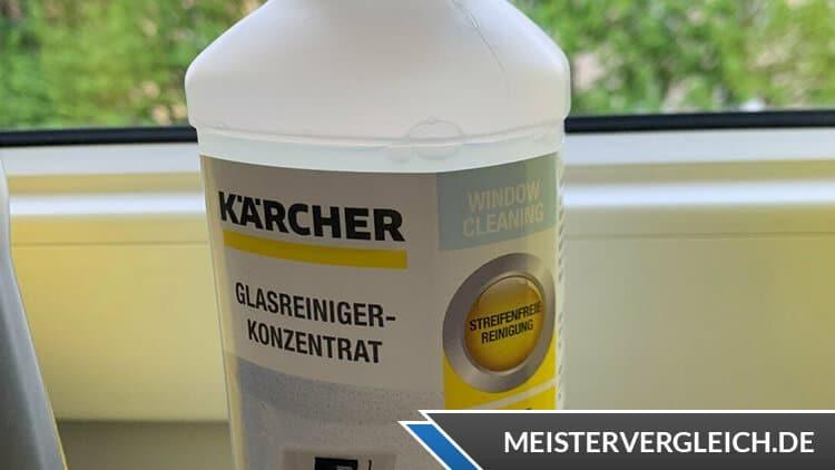 Fenstersauger chemische Reinigungsmittel