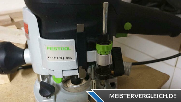 FESTOOL OF 1010 EBQ-Plus Oberfräse Test
