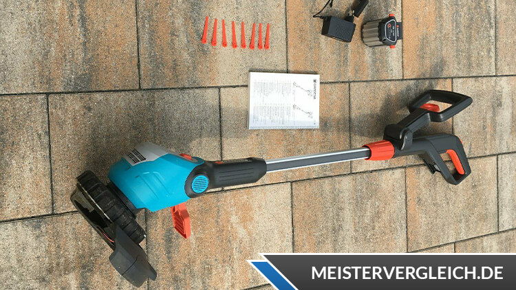 Gardena Turbotrimmer EasyCut LI 18-23R Lieferumfang