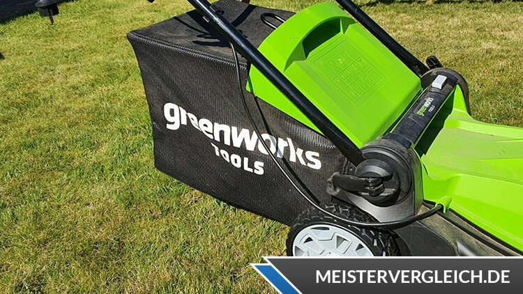 Greenworks Tools 2501907UA 40V Grasfangbox