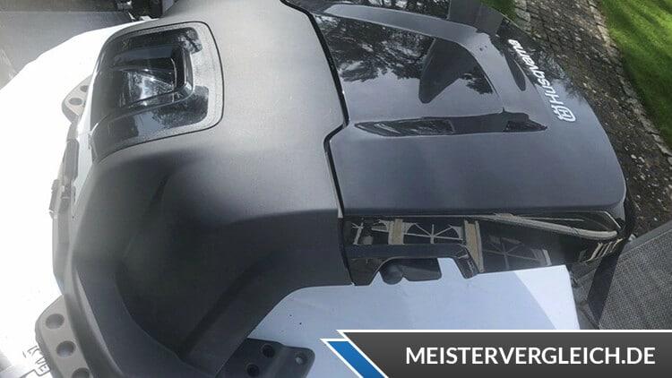 Husqvarna Automower 310 Garage Test
