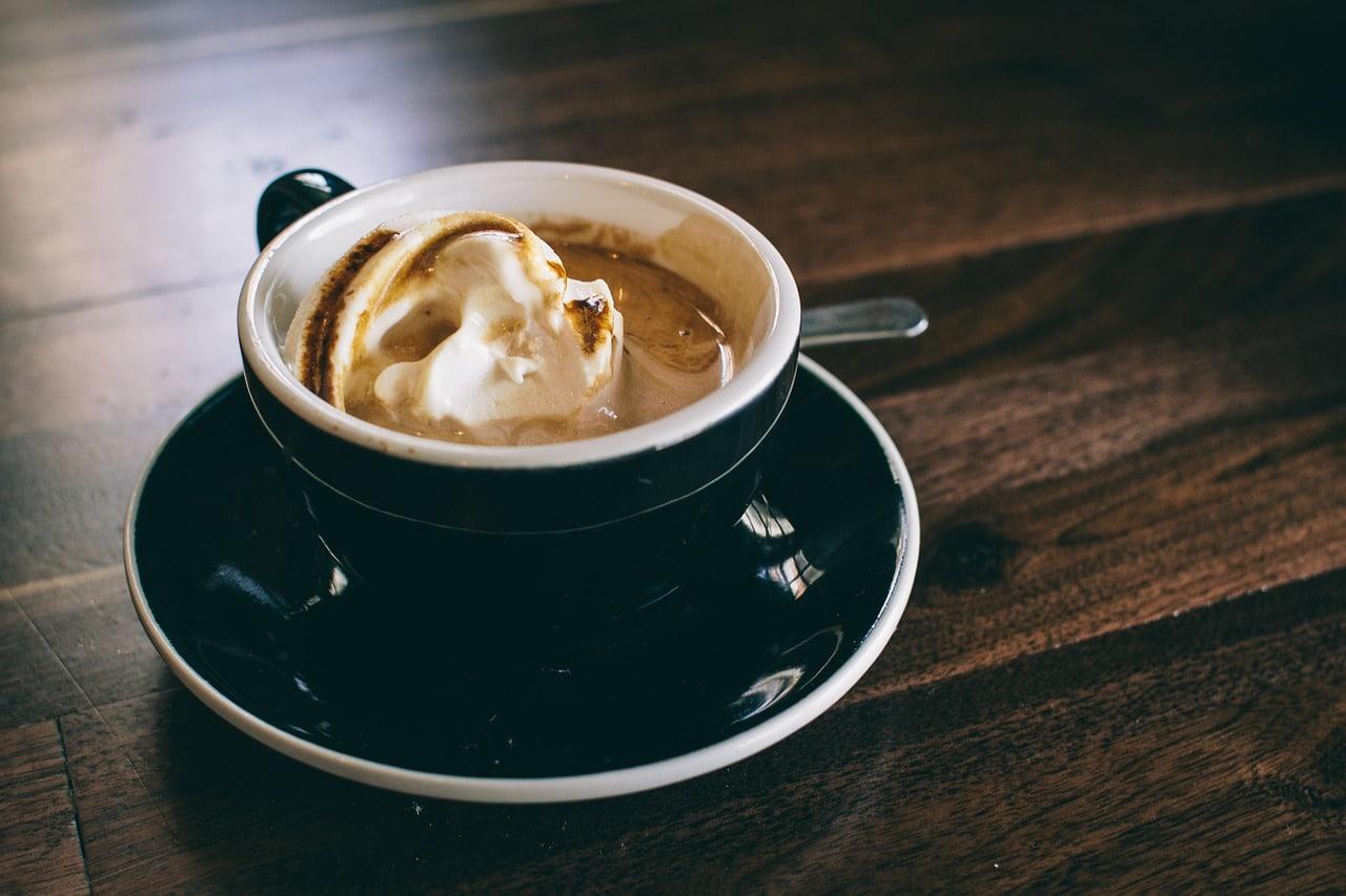 Kaffee mit Kaffeepads
