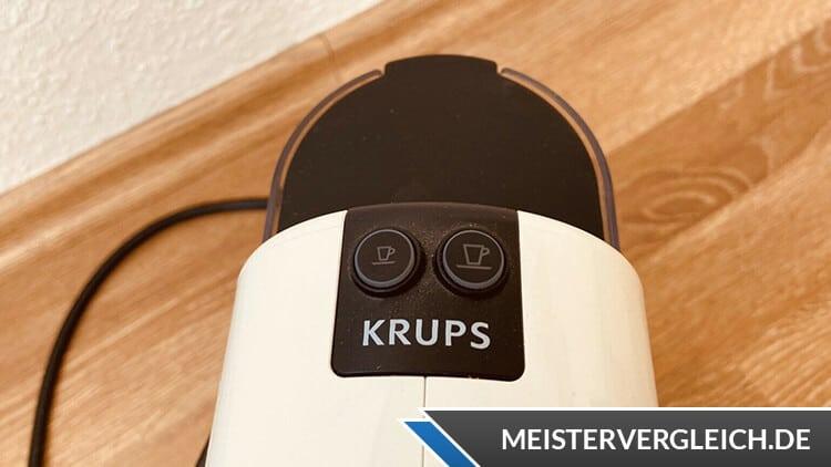 Krups Kapselmaschine Nespresso Bedienknöpfe