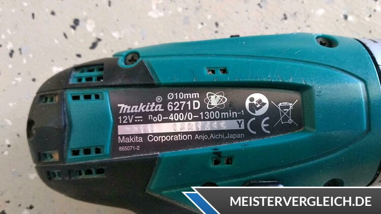 Makita 6271 DWAE Datenblatt