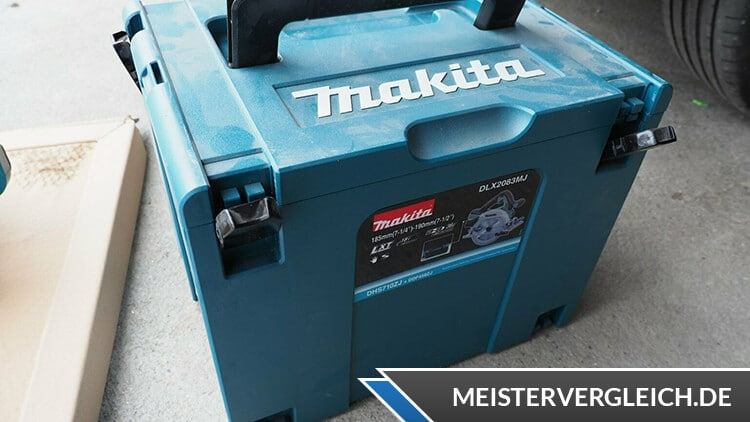 Makita Akku-Handkreissäge DHS710ZJ Koffer