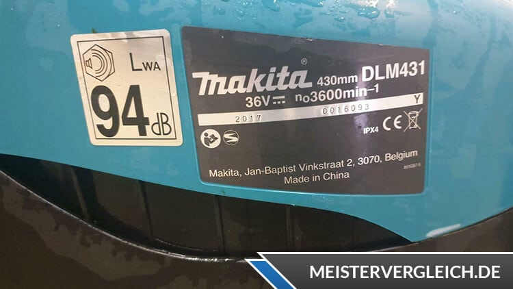 Makita DLM431Z Datenblatt