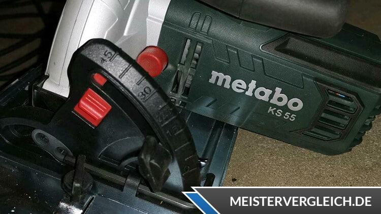 Metabo Kreissäge KS 55 FS (600955000) Sägeblatt
