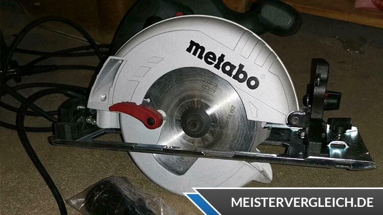 Metabo Kreissäge KS 55 FS (600955000) Test