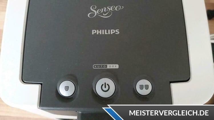 Philips SENSEO Kaffeepadmaschinen Bedienknöpfe