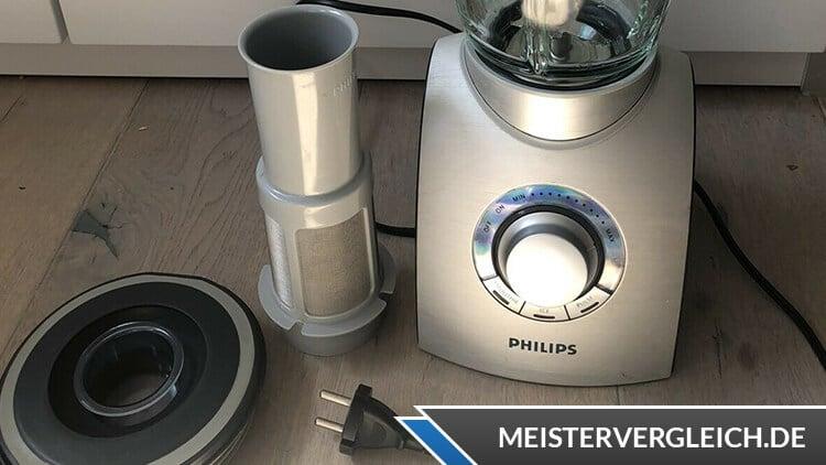 Philips Standmixer HR2094-00 Einstellung