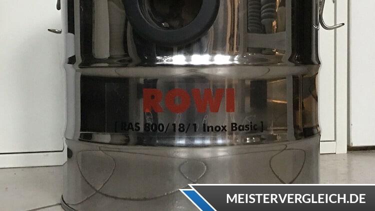 Rowi Aschesauger RAS 800-18-1 Test
