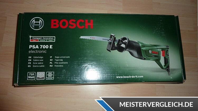 Säbelsäge Bosch Verpackung