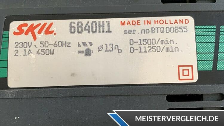 Skil Schlagbohrmaschine Datenblatt