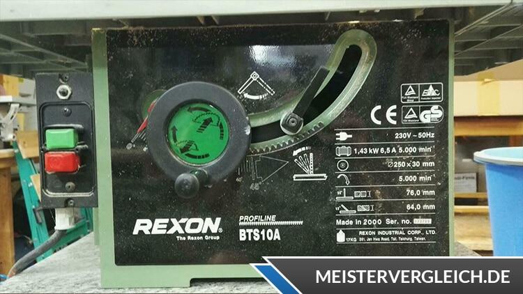 Tischkreissäge von Rexon