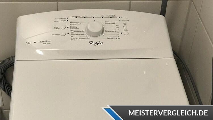 Whirlpool AWE 5200 Test