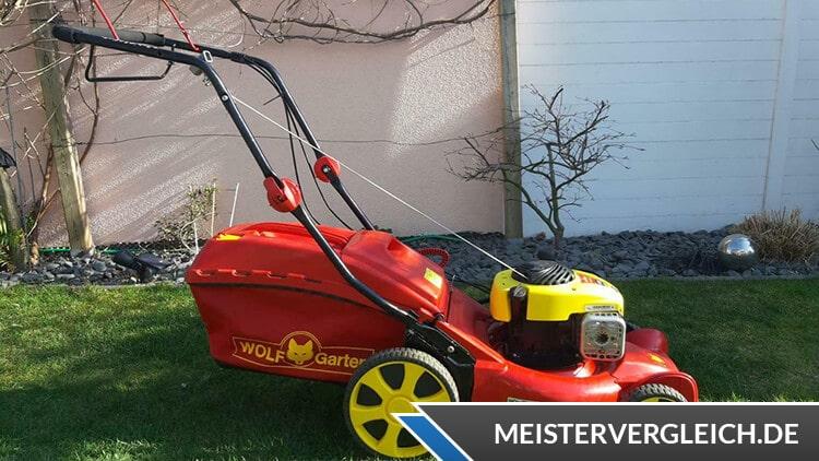WOLF-Garten Benzinmäher A 420 A HW Test
