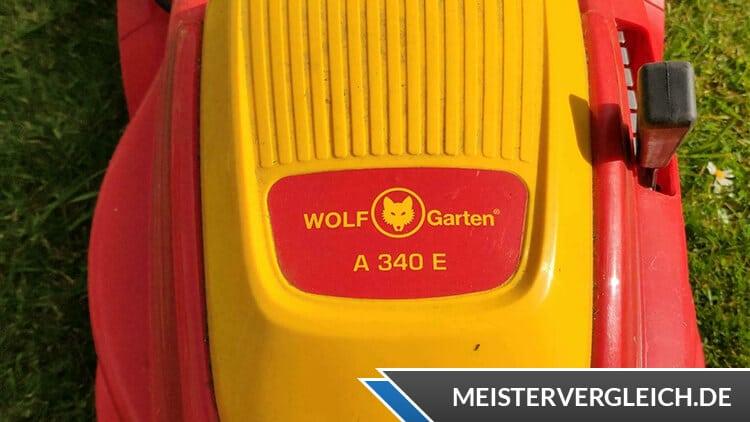 WOLF-Garten Elektro-Rasenmäher A 340 E Test