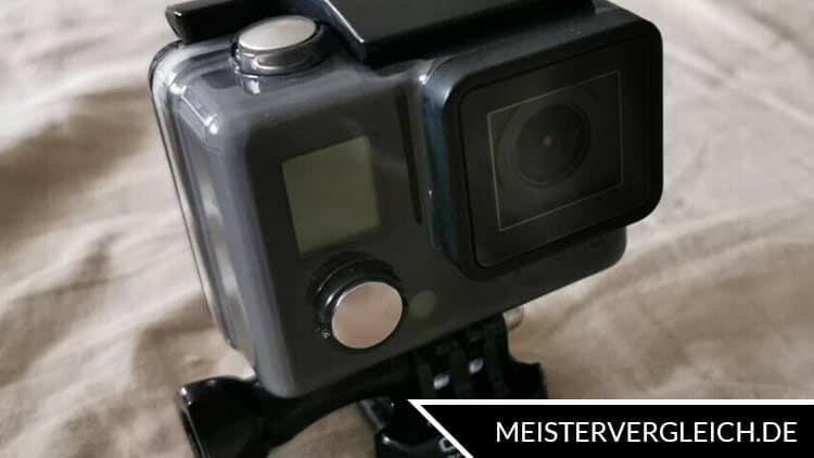 Action-Cam GoPro auf einem Ständer