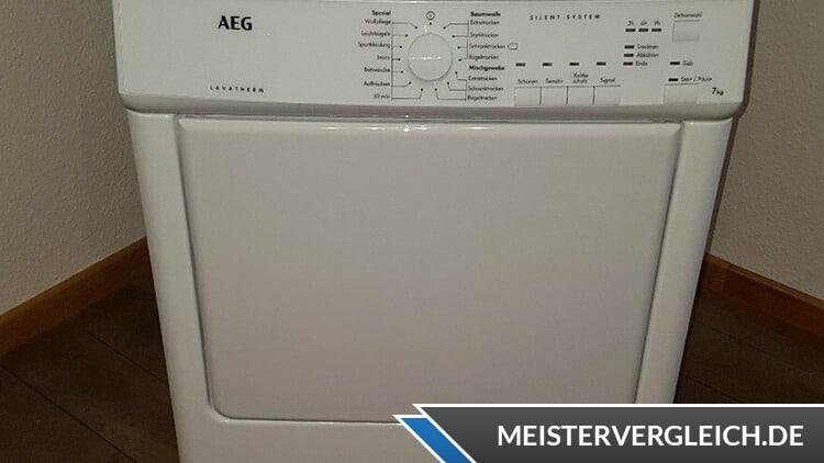 AEG LAVATHERM 65170 AV Test Ablufttrockner
