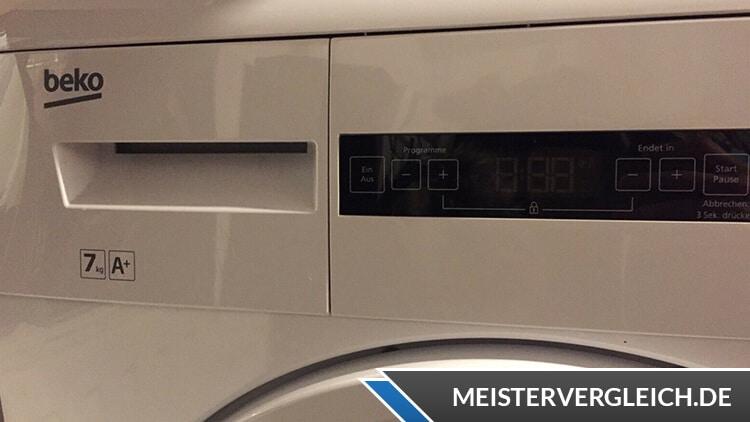 Beko DPU7404 XE Wärmepumpentrockner Bedienelemente