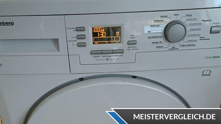 Blomberg TKF 7451 W50 Wärmepumpentrockner Bedienelemente
