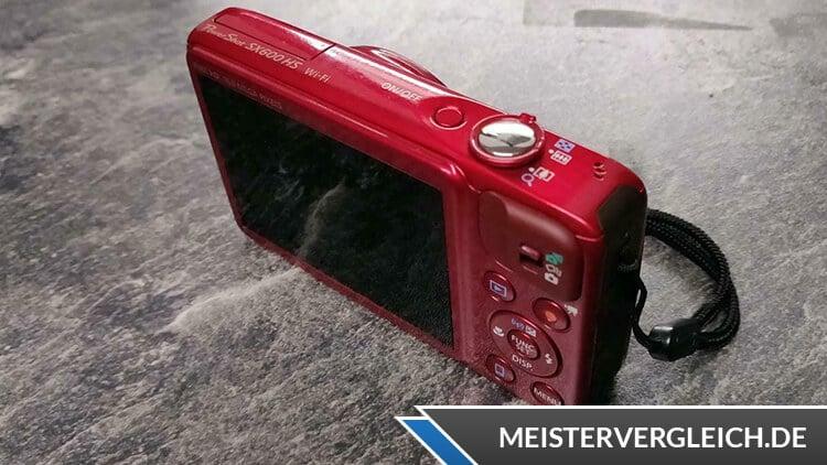 Canon PowerShot SX600 HS Test
