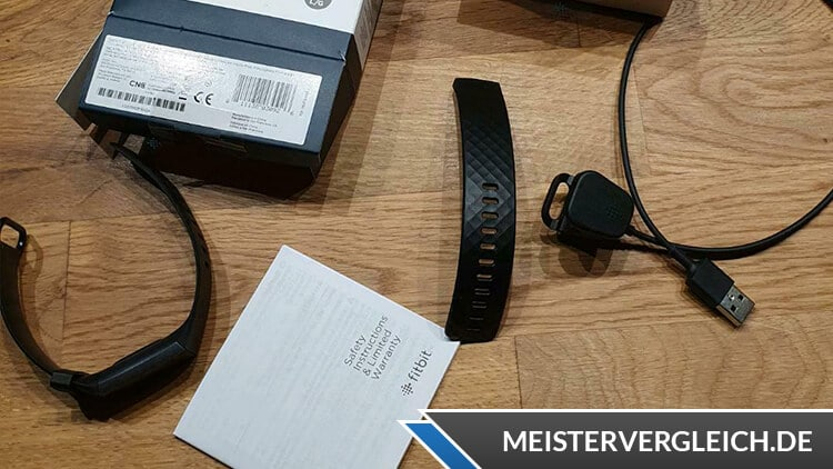 Fitbit Charge 3 Lieferumfang