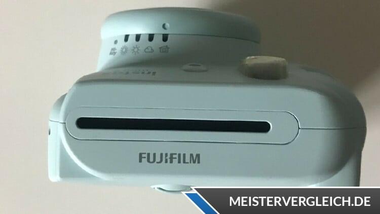 Instax Mini 9 Mint Fujifilm Fotoauswurf