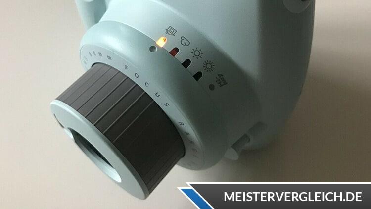Instax Mini 9 Mint Fujifilm Objektiv