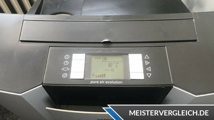 Klimaanlage Siemens Bedienfeld