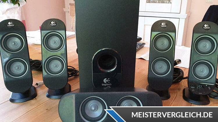 Logitech Soundsystem Test
