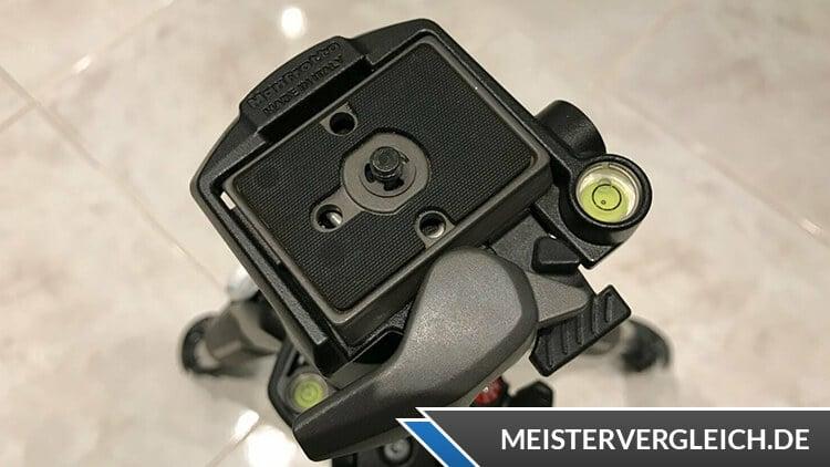 Manfrotto MK055XPRO3-3W 055 Stativwechselplatte