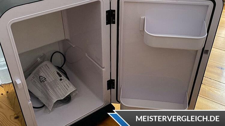 Mini Kühlschrank Coca Cola Innenraum