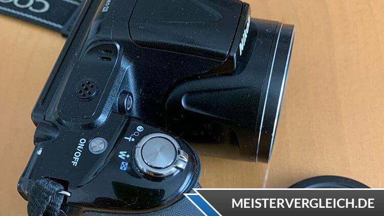Nikon Coolpix L830 Bedienfeld