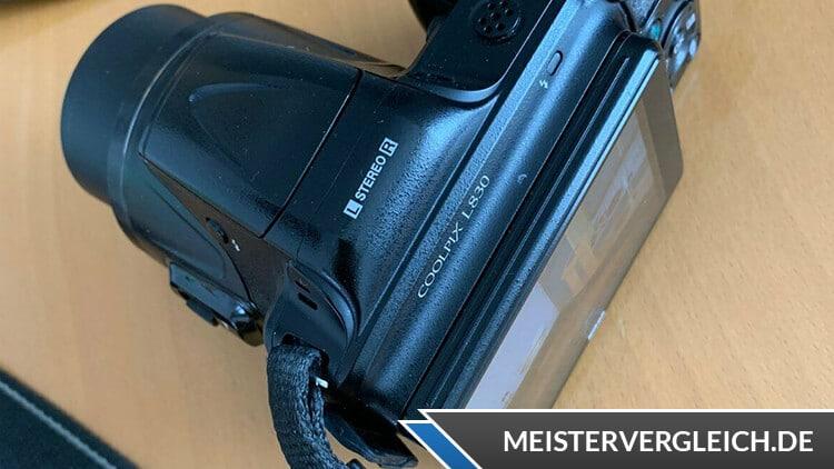 Nikon Coolpix L830 Display