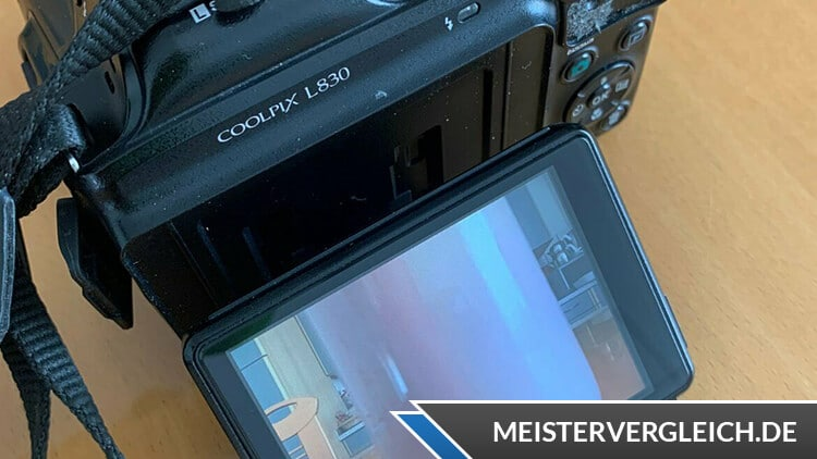 Nikon Coolpix L830 Monitor