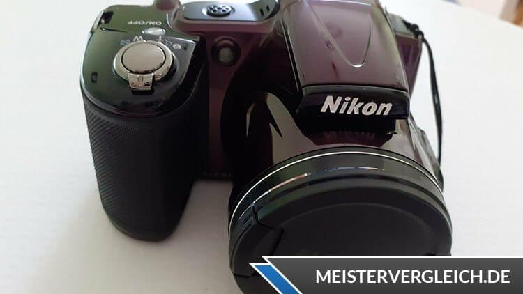 Nikon Coolpix L830 Rot Test