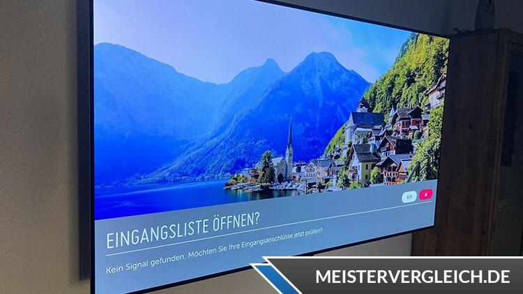 OLED TV LG Blickwinkel