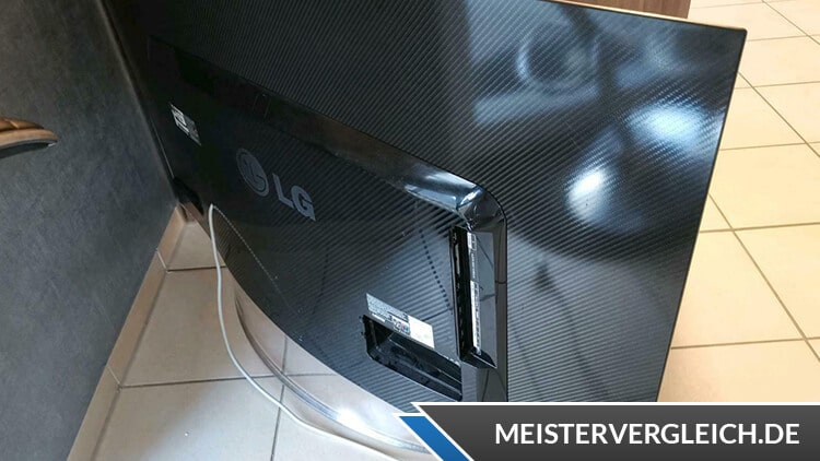 OLED TV Rückseite