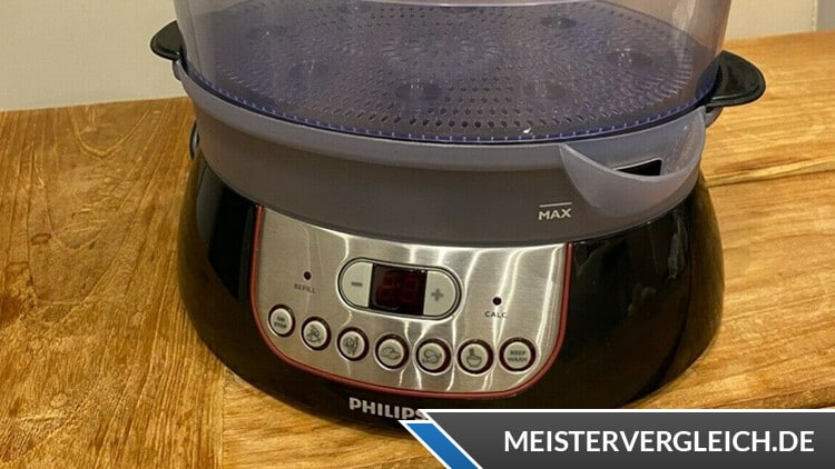 Philips HD9140-91 Dampfgarer Testsieger